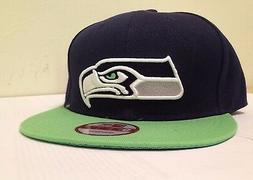 2 Pieces, Sports Hats Seattle Seahawks   Dark Navy/Green Vin
