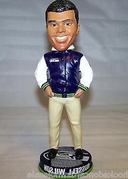 2013 Russell Wilson Seattle Seahawks Bobblehead Doll Varsity
