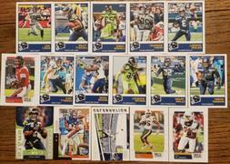 2019 Score Seattle Seahawks TEAM SET 16 Card Lot w/ Rookies
