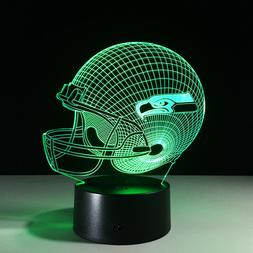 Seattle Seahawks LED Light Lamp Collectible NFL Russell Wils