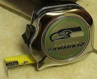 new 25 seattle seahawks tape measure