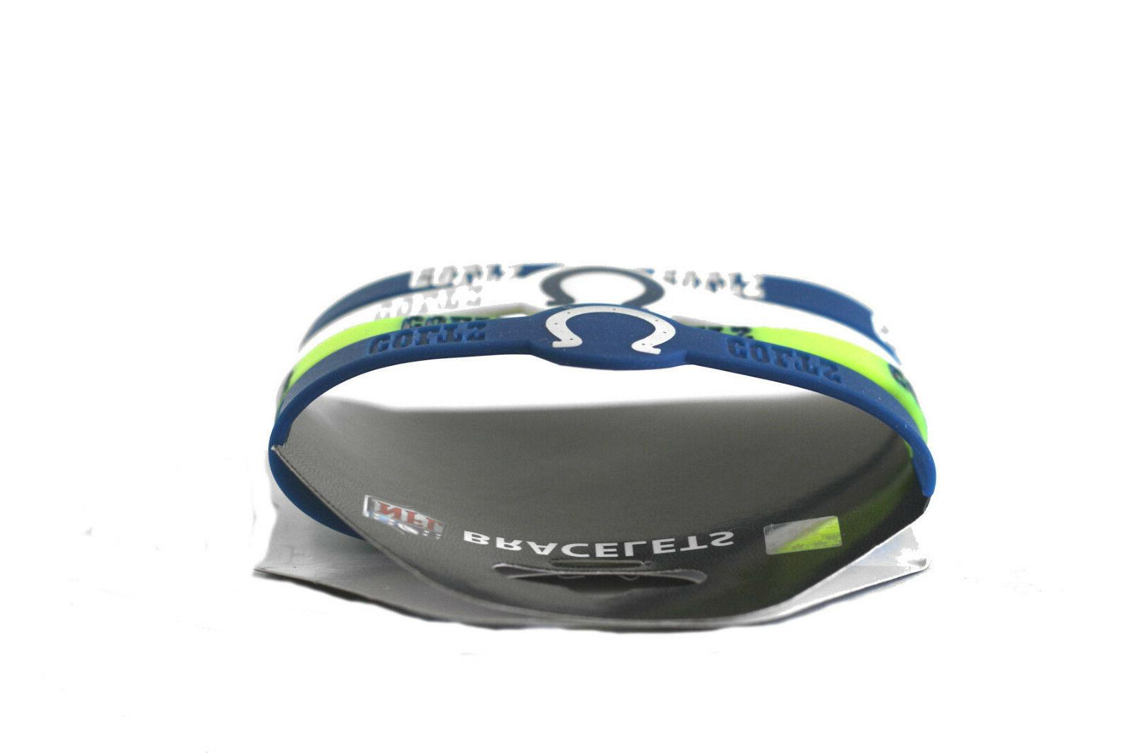 NFL bracelet wrist fan silicone YOUR TEAM