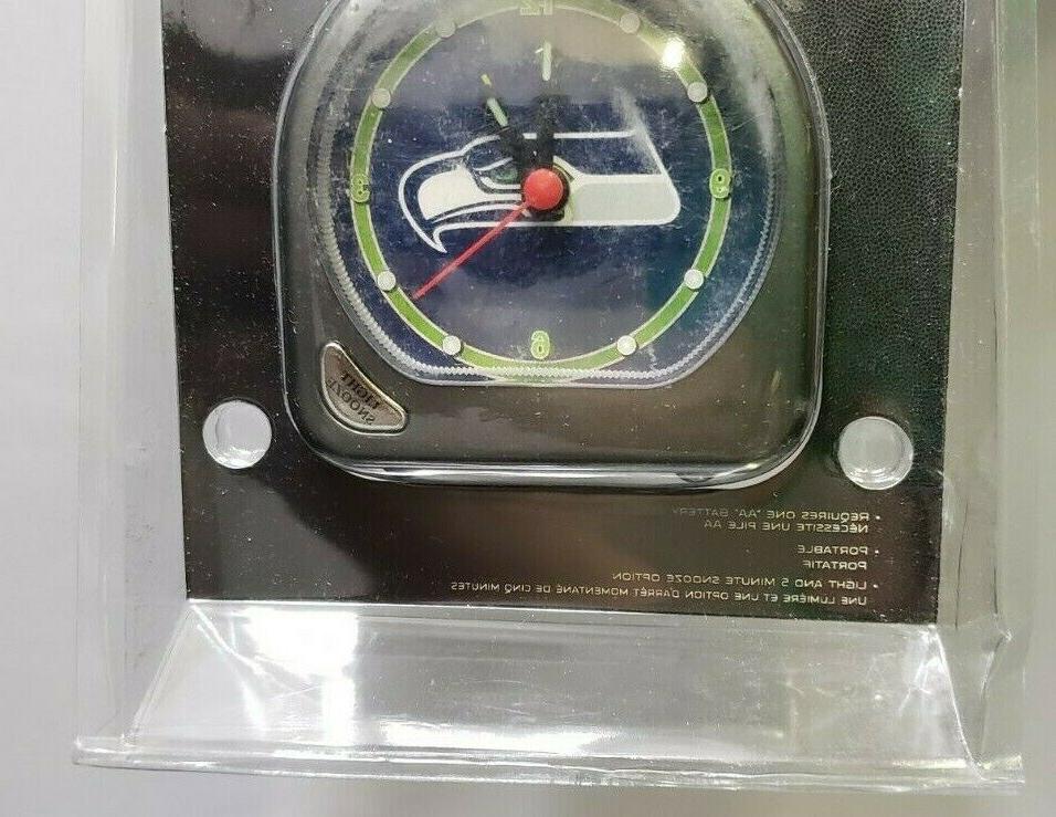 NFL Alarm Clock Russell Wilson Marshawn Lynch Battery