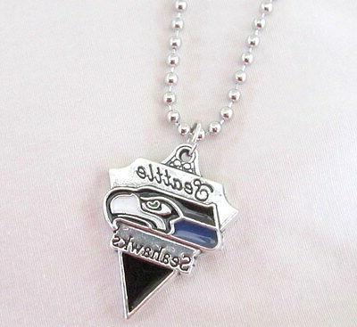 NFL SEAHAWKS Symbol Logo or CORD PENDANT