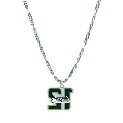 seattle seahawks 12th man nfl necklace
