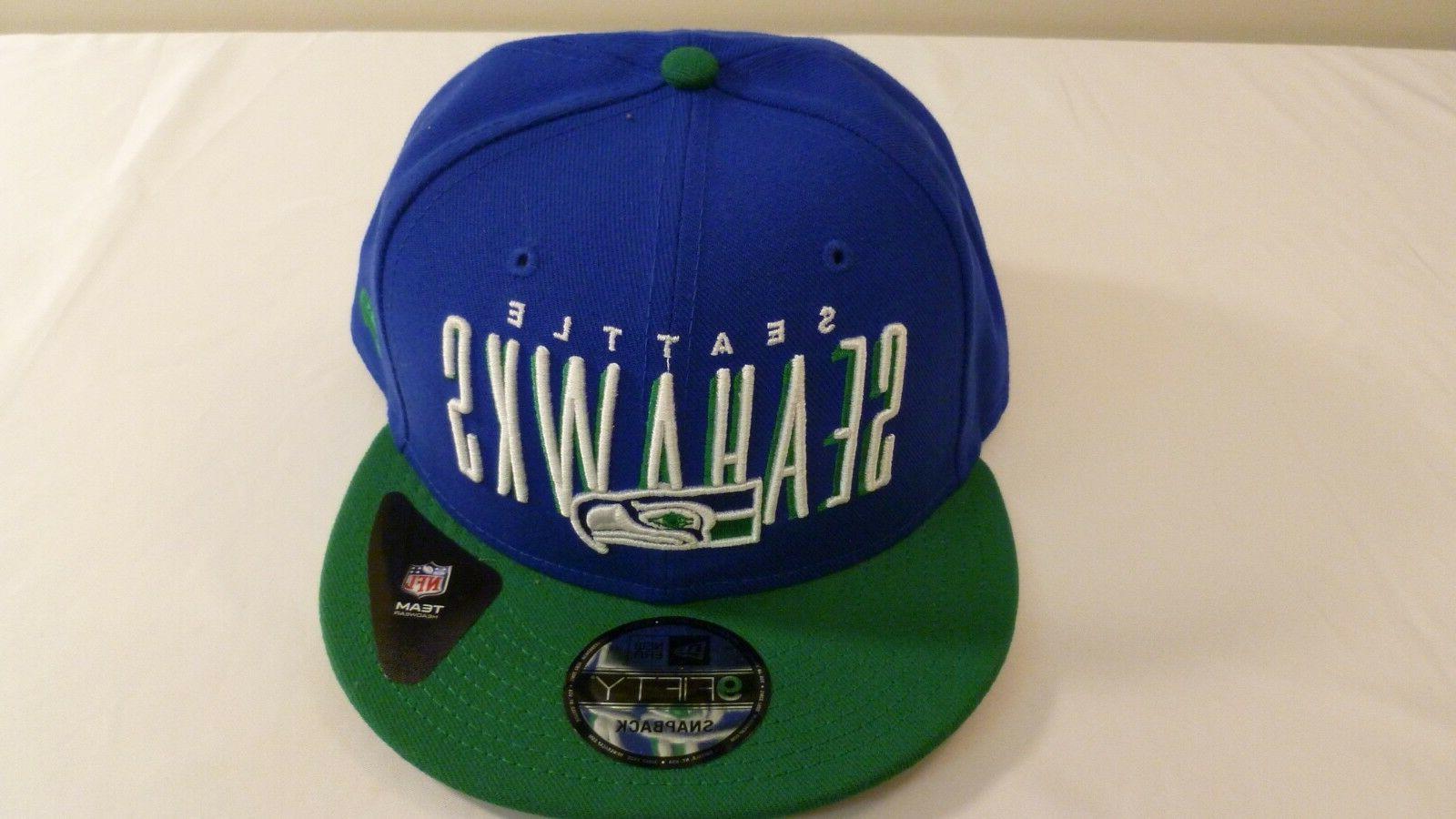 seattle seahawks 9fifty snapback baseball cap