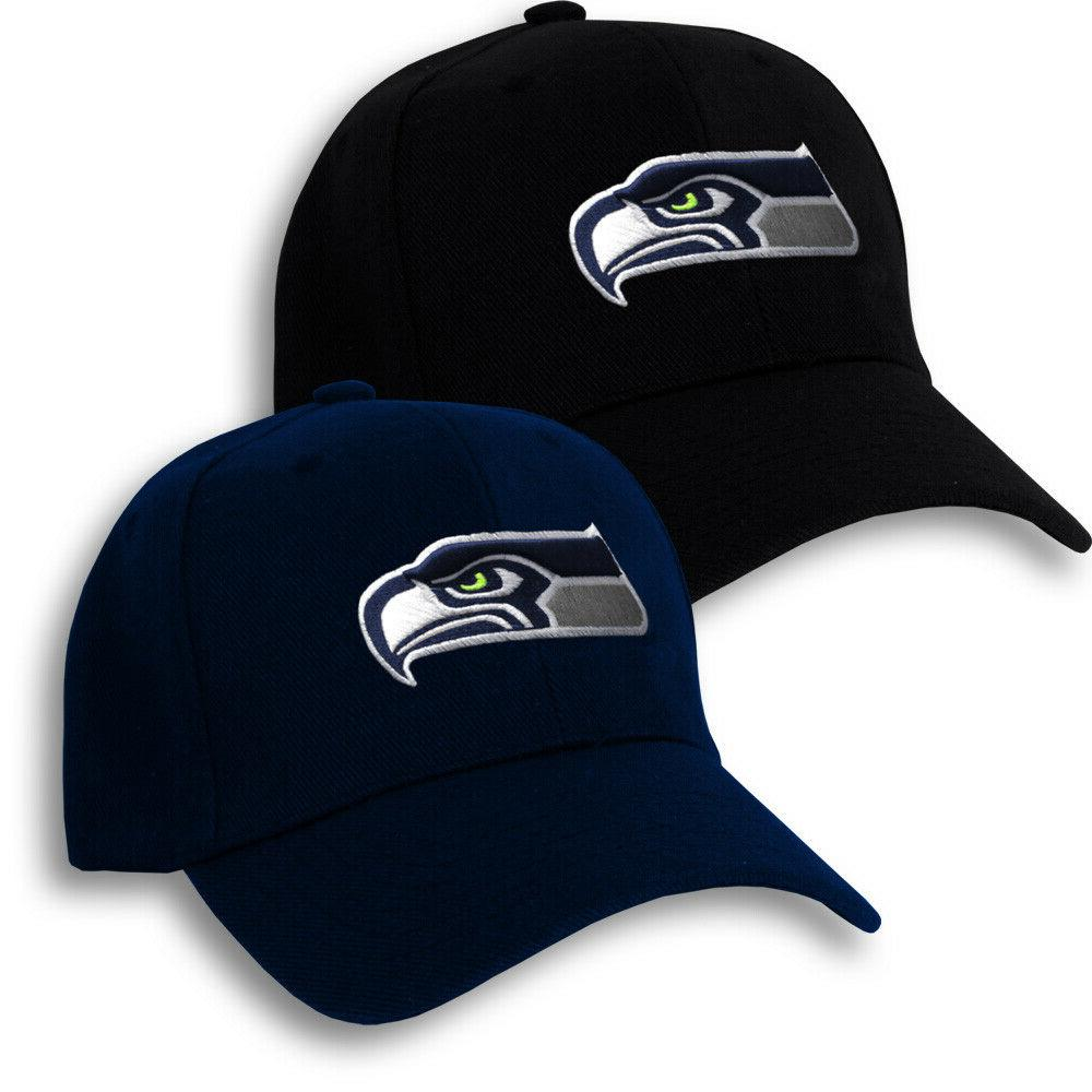 Seattle Seahawks Hat Embroidered Game Home Curved