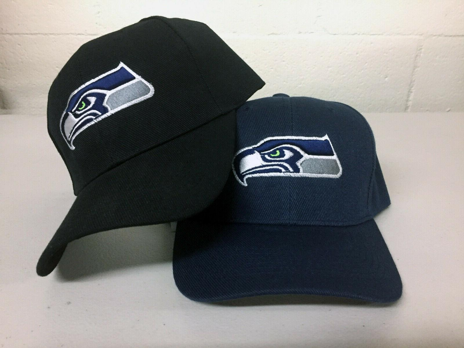 seattle seahawks cap sea hat embroidered game