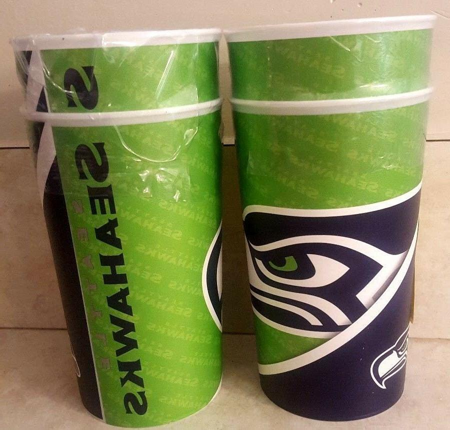seattle seahawks cups pint glasses set of