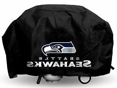 seattle seahawks deluxe team logo bbq gas