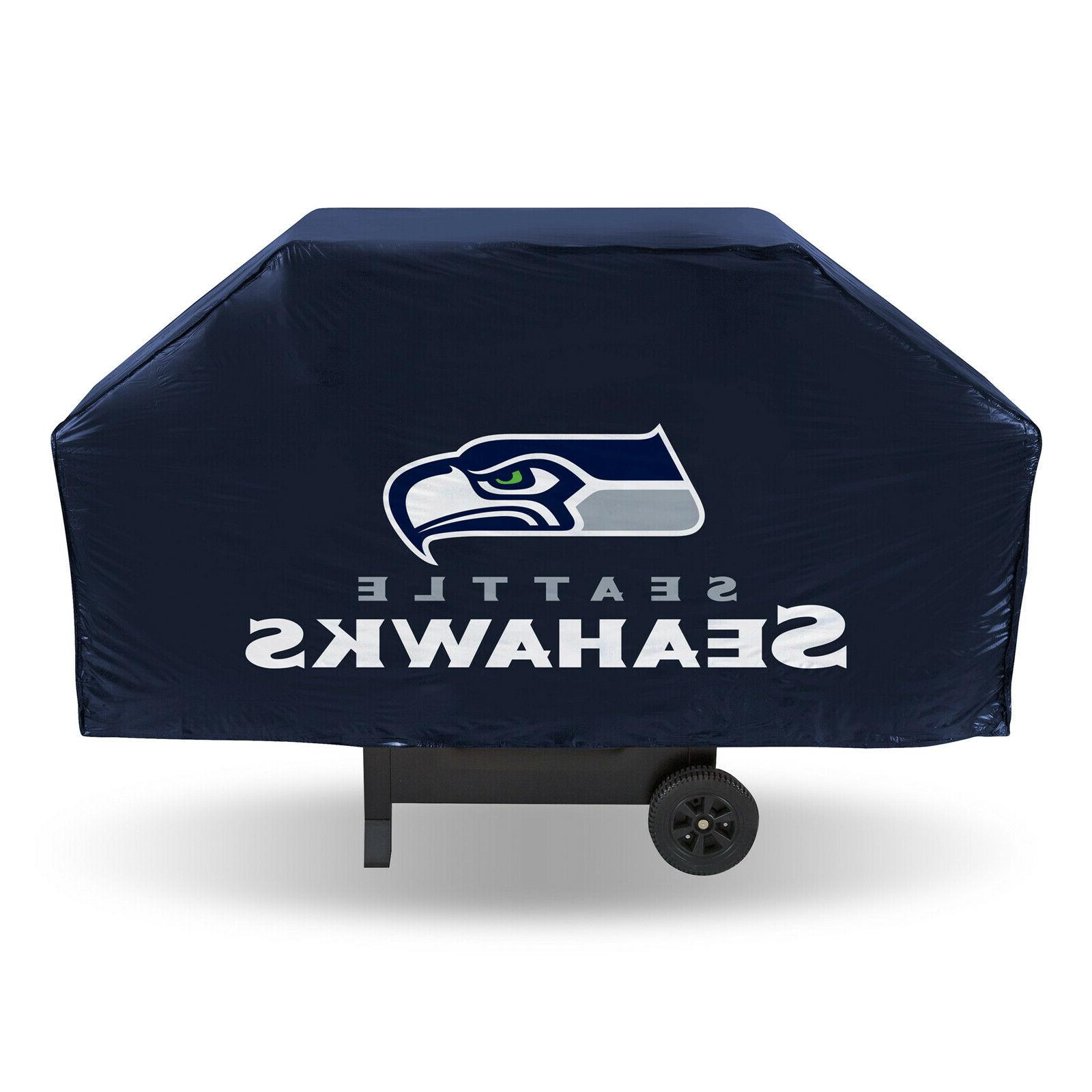 seattle seahawks economy grill cover bbq gas