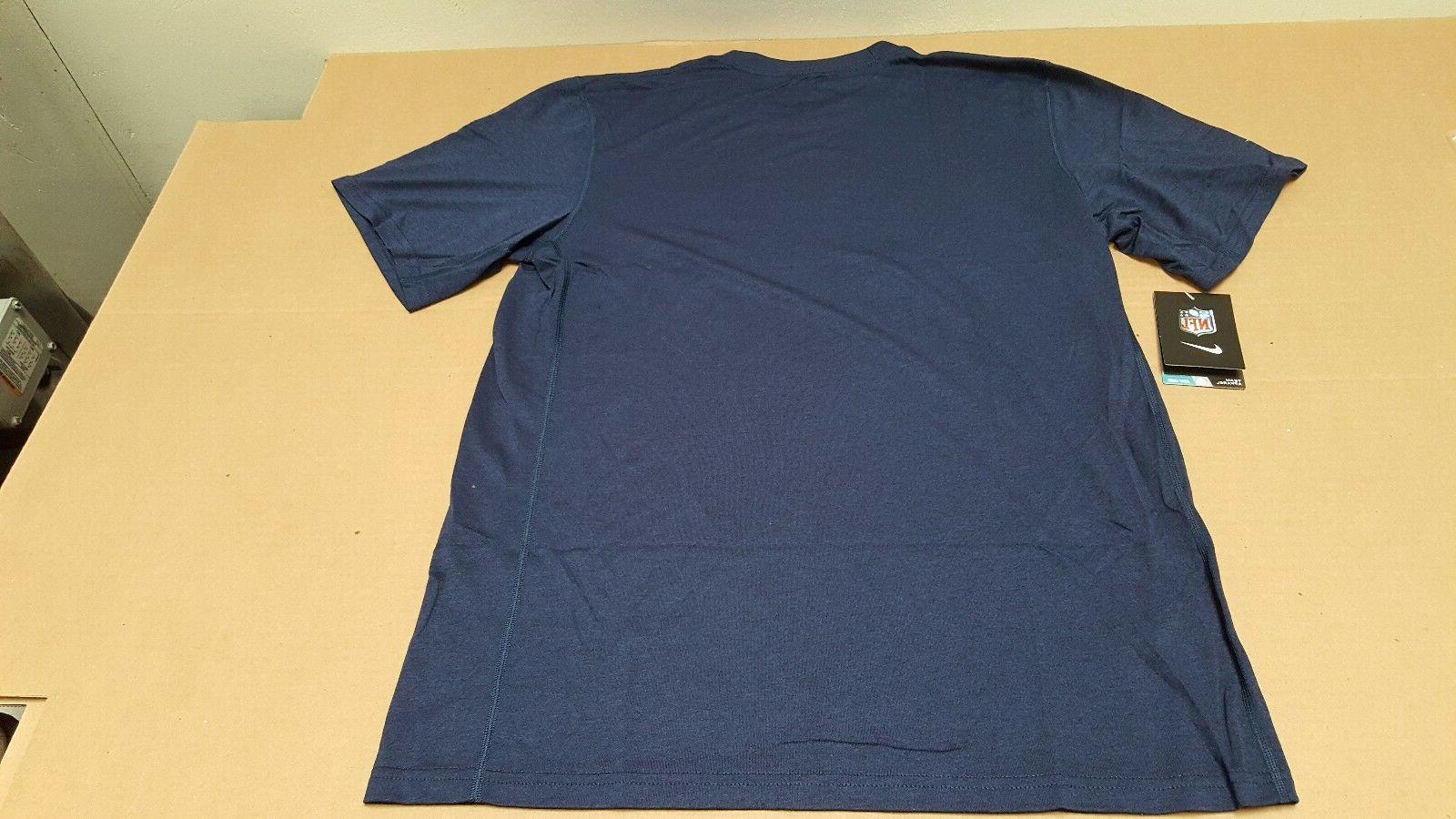 Seattle NFL Blue T-Shirt NEW