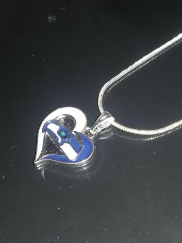 Seattle Necklace Silver Chain NFL