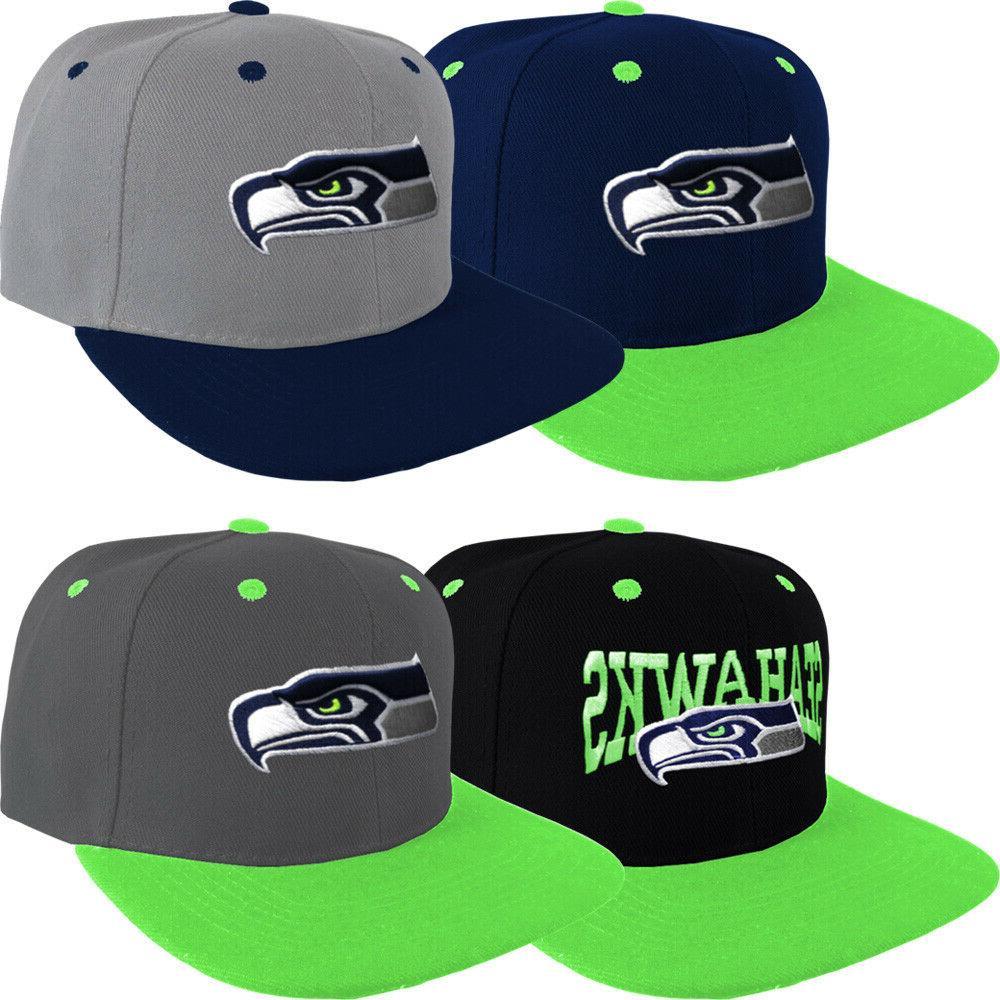 Seattle Snap Back Cap