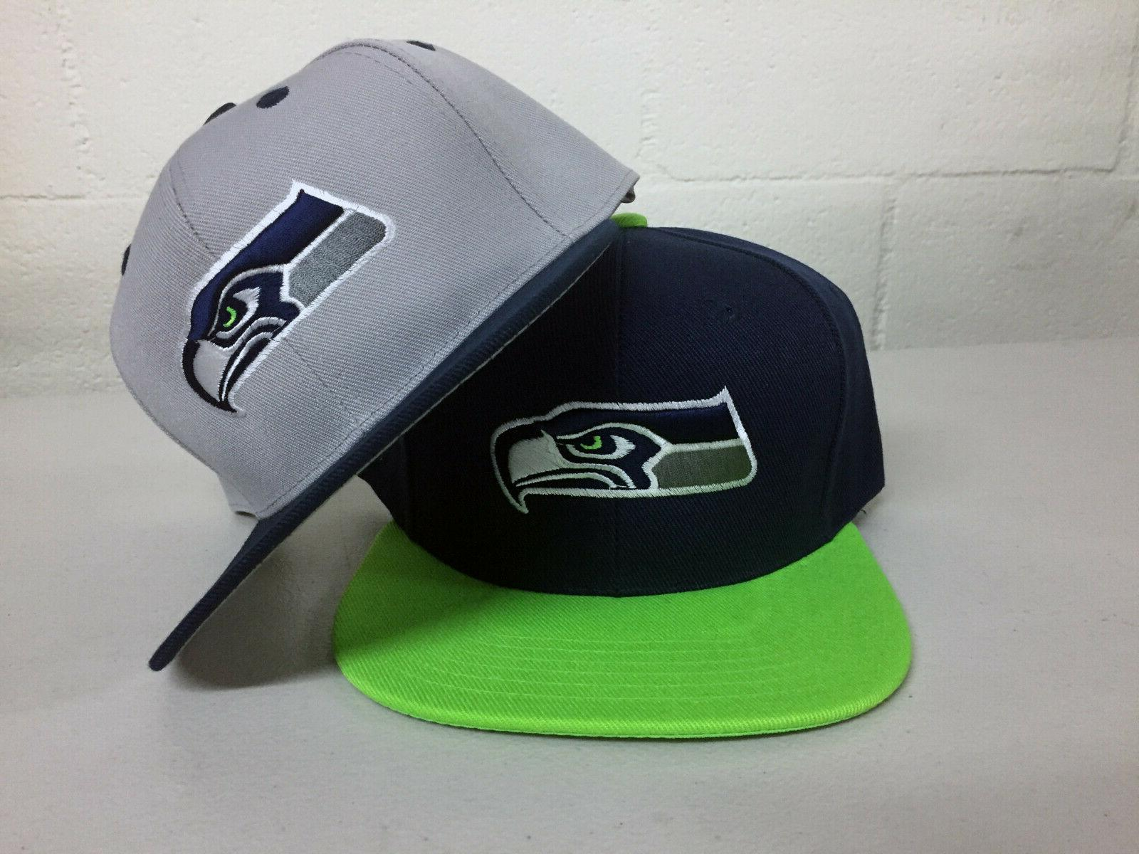 seattle seahawks snap back cap hat sea