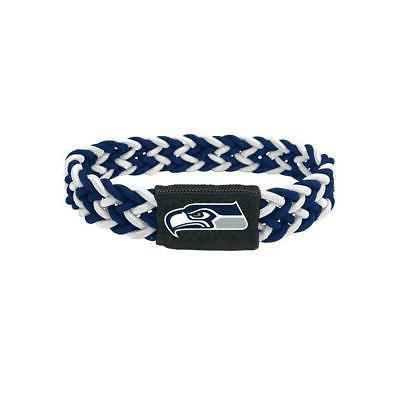 seattle seahawks stretch braided bracelet new nfl
