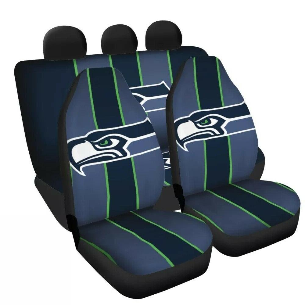 Seattle Seahawks Universal Car Seat Covers Truck 5 Seater Fr