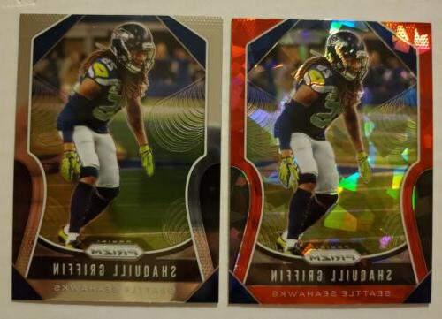 Shaquill GRIFFIN 🏈 Seattle SEAHAWKS 🏈 2019 * ICE RED *