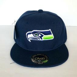NEW Mens Seattle Seahawks Baseball Cap Fitted Hat Multi Size