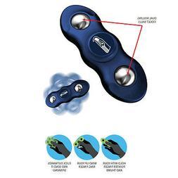 New NFL Seattle Seahawks 2 in 1 Flik Fidget Hand Spinner & R