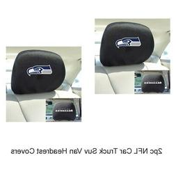 New NFL Seattle Seahawks Car & Truck Embroidered Headrest Co