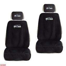 New NFL Seattle Seahawks Car Truck 2 Front Seat Covers with