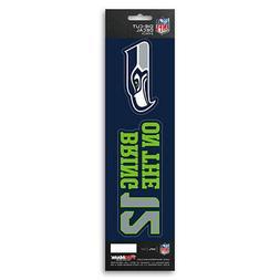New NFL Seattle Seahawks Die-Cut Vinyl Slogan Decal Pack / B