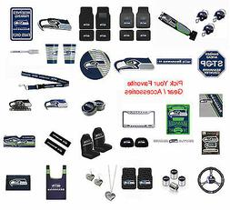 New NFL Seattle Seahawks Pick Your Gear / Car Accessories Of