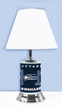 NFL Lamp w/ shade Seattle Seahawks