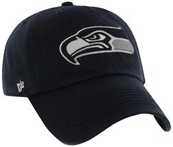 NFL Seattle Seahawks '47 Brand Franchise Fitted Hat, Navy, L