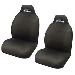 NFL Seattle Seahawks Car Truck 2 Front Seat Covers Set - Off