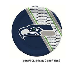 NFL Seattle Seahawks Disposable Paper Plate