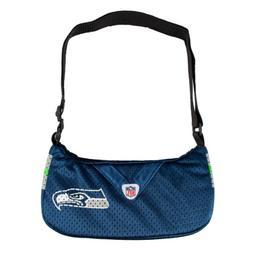 NFL Seattle Seahawks Jersey Team Purse, 12 x 3 x 7-Inch, Blu