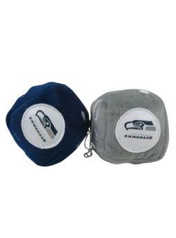 NFL Seattle Seahawks Plush Fuzzy Dice Auto Accessories
