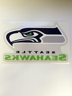 NFL Seattle Seahawks Vinyl Bumper Sticker Decal For Car Wall