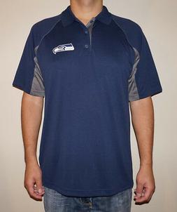 NWT Seattle Seahawks Men's TX3 Cool Performance Polo Shirt