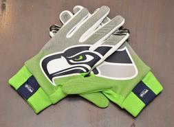 NWT Nike Seattle Seahawks Mens Stadium Gloves XL Dark Grey/A