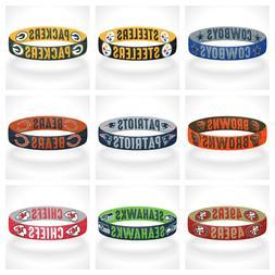 Reversible NFL Team Mascots Bracelet Stretch Bracelet NFL Wr