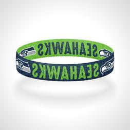 Reversible Seattle Seahawks Bracelet Wristband 12th Man Go S