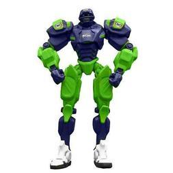 Seattle Seahawks 10 Inch Plastic Fox Sports Robot  NFL Cletu