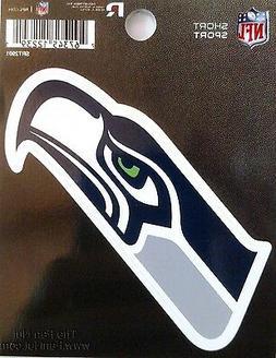 """Seattle Seahawks 3"""" Flat Vinyl Sport Die Cut Decal Bumper St"""