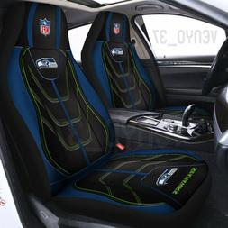Seattle Seahawks 3D Car Seat Cover NFL Logo Car Seat Protect