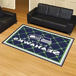 Seattle Seahawks 5 x 8 Area Rug Carpet