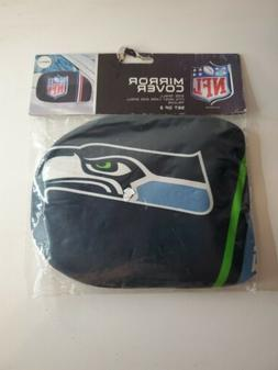 Seattle Seahawks Auto Mirror Cover In Small