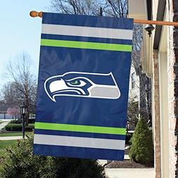 Party Animal Seattle Seahawks Banner NFL Flag