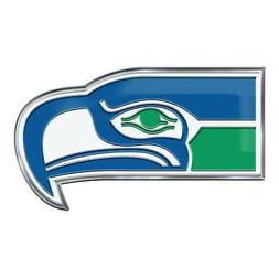 Seattle Seahawks CE4 Alternative Logo Color Auto Emblem Chro