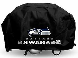 Seattle Seahawks Deluxe Team Logo BBQ Gas Propane Grill Cove