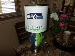 SEATTLE SEAHAWKS FOOTBALL TABLE LAMP