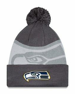 Seattle Seahawks Gold Collection Graphite Sports Knit Sideli