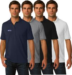 Seattle Seahawks Golf Polo Shirt - up to 6X Embroidered